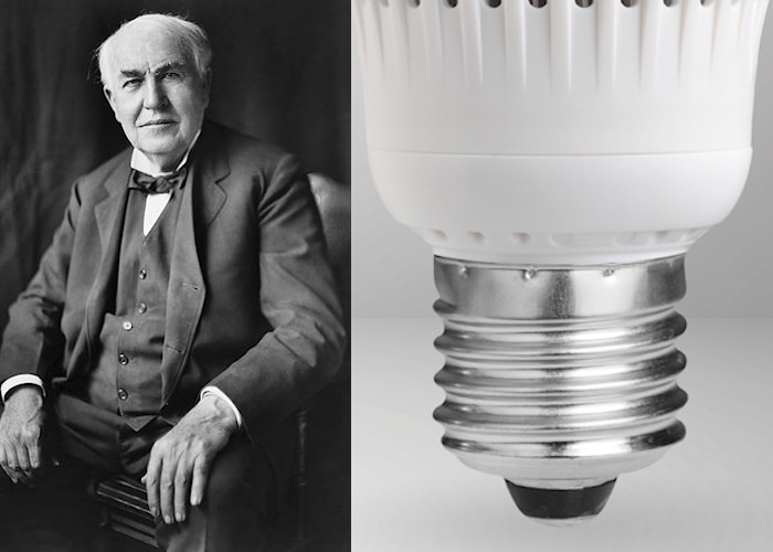 What Are Edison Quot Screw Base Quot Light Bulbs