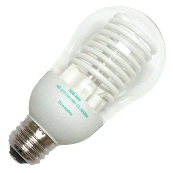 Cold Cathode Compact Fluorescent Bulbs in Winter