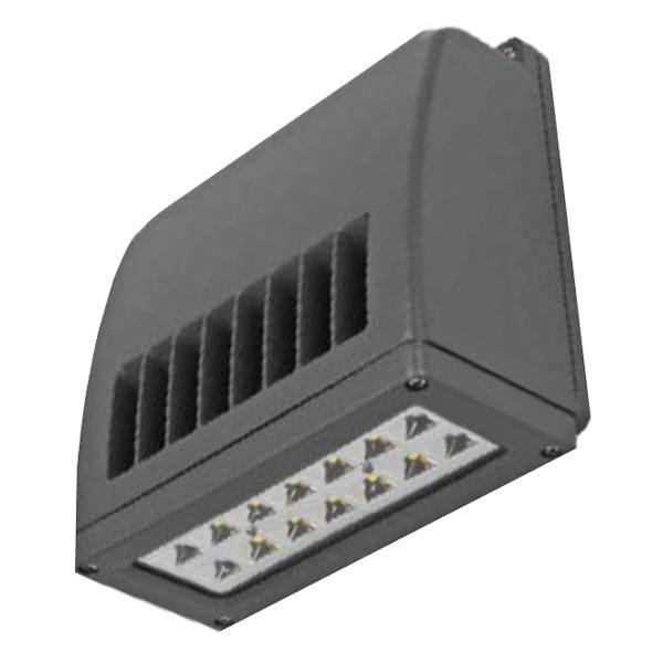 Abb lighting 18401 outdoor wall pack led light fixture 18 watt 120277 volt 4000k bronze led slim wall pack aloadofball Gallery