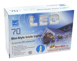 Gerson 78345 Led Icicle Light