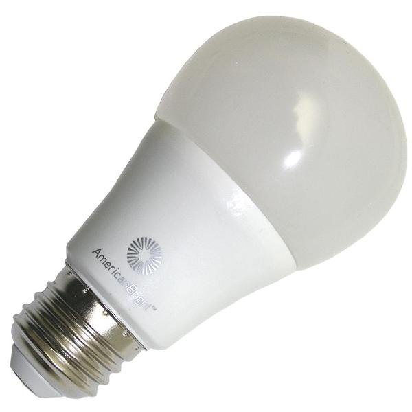 Americanbright 19106 Abl A19w 10e6w A Sn A19 Line Pear Led Light Bulb