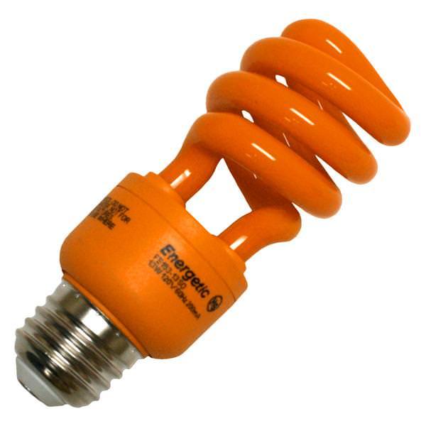 00262 Colored Compact Fluorescent Light Bulb