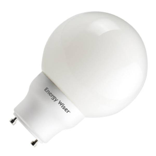 Bulbrite 509735 Globe Twist And Lock Base Compact Fluorescent