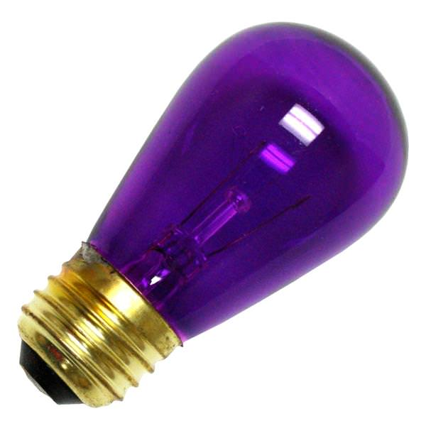 Bulbrite 701511 Standard Transparent Colored Light Bulb