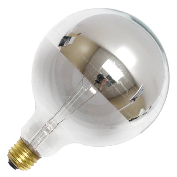 Bulbrite 712351 Silver Bowl Chrome Top Light Bulb