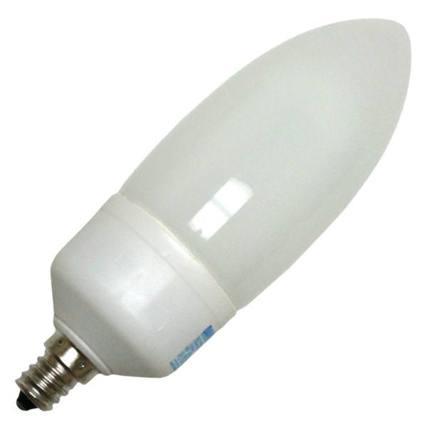 Damar 54951 - CTW9W/E12/41K Torpedo Screw Base Compact Fluorescent Light  Bulb