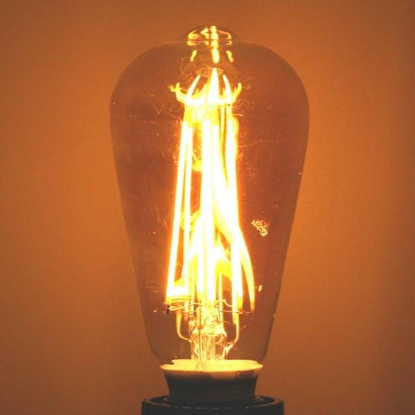 Feit Electric 87290 Edison Style Antique Light Bulb