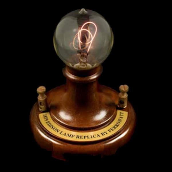 Ferrowatt 19110 Antique Reproduction Light Bulb Fixture