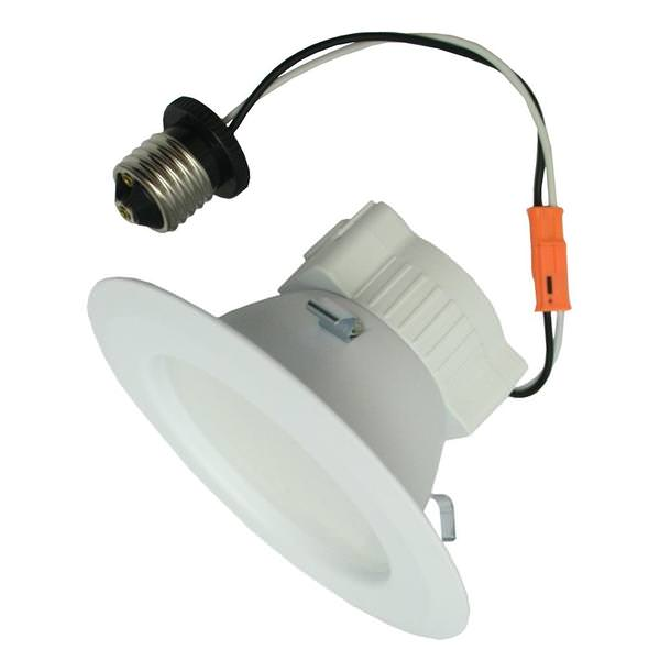 premium selection 0a716 7ab83 GE 95854 - LED10RS4/830E26P LED Recessed Can Retrofit Kit with 4 Inch  Recessed Housing