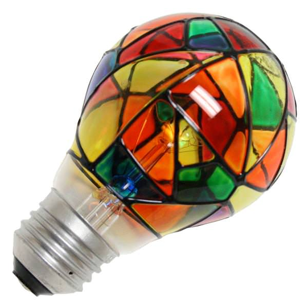Ge 46645 25a Sg Cd Pq1 5 Standard Transparent Colored Light Bulb
