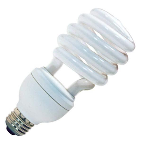 fluorescent light bulbs screw in twist medium standard base ge. Black Bedroom Furniture Sets. Home Design Ideas