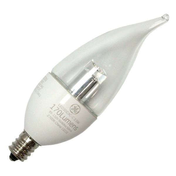 Ge 68166 Candle Led Light Bulb