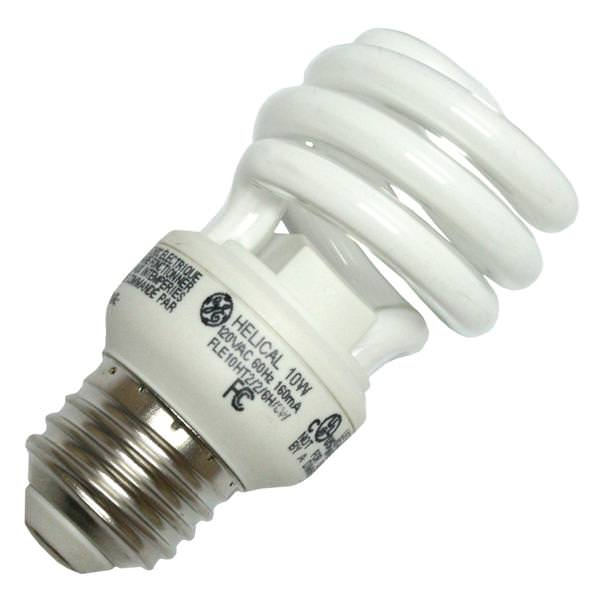 Ge 72468 Twist Medium Screw Base Compact Fluorescent Light Bulb