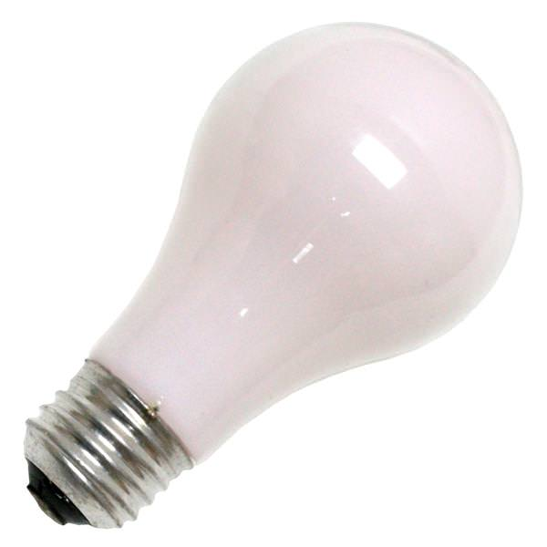 60 Watt 120 Volt A19 Medium Screw Base Soft Pink