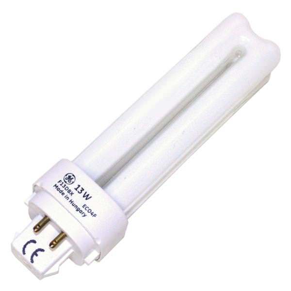 Ge 97596 Double Tube 4 Pin Base Compact Fluorescent