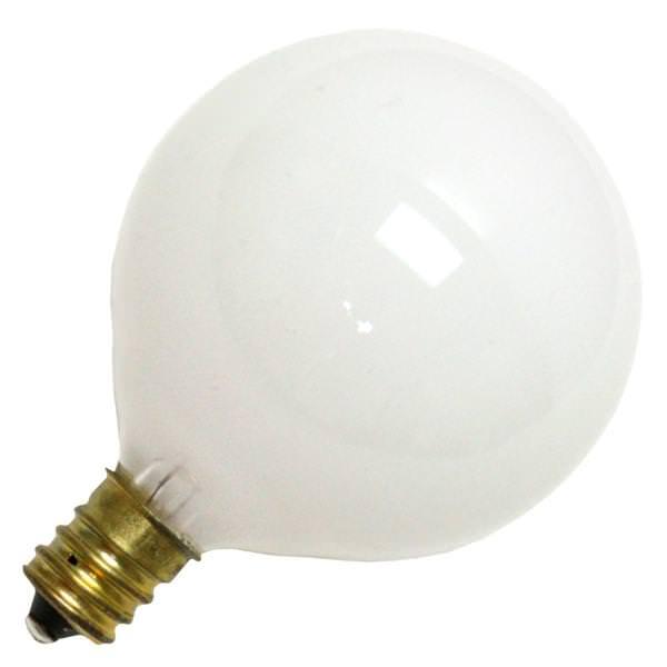 Vanity Light Bulb Size : Halco 04016 - G16.5 Decor Globe Light Bulb