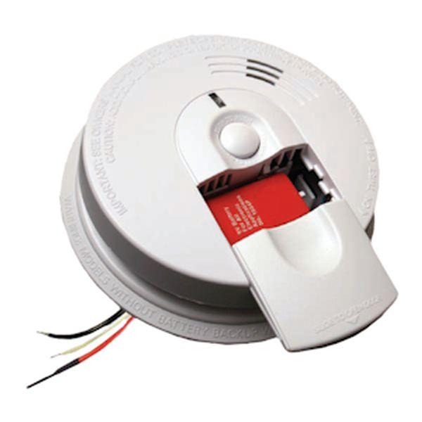 kidde 07581 electric wired smoke alarm detector. Black Bedroom Furniture Sets. Home Design Ideas