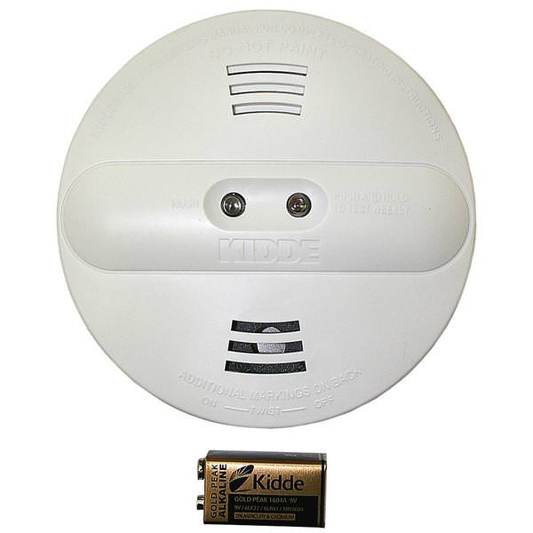 Kidde 42007 Battery Operated Smoke Alarm Detector