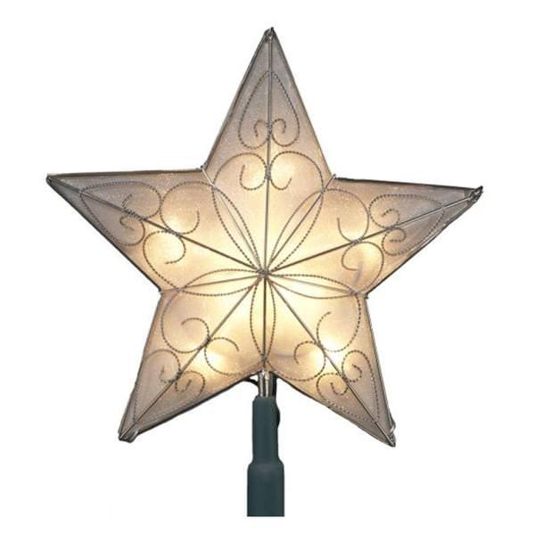 Kurt S Adler 12901 10 Light 8 5 Star Tree Topper