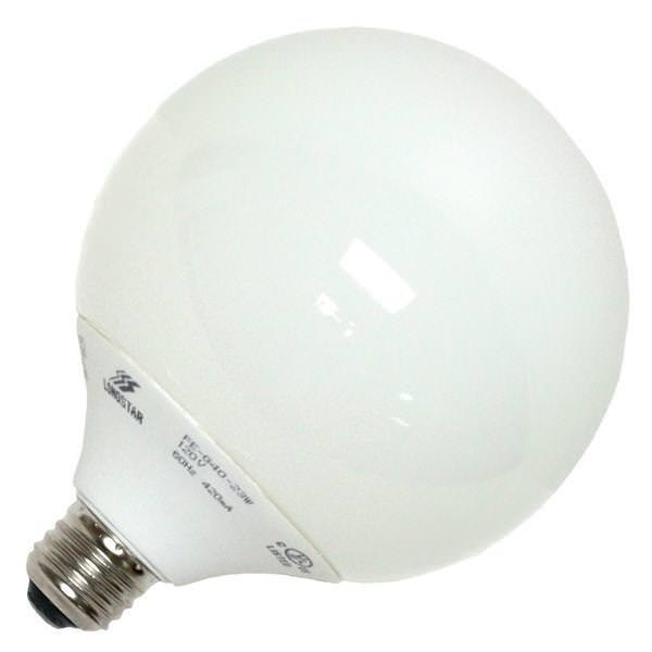 longstar 00735 globe screw base compact fluorescent. Black Bedroom Furniture Sets. Home Design Ideas