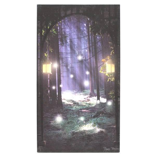 Ohio Wholesale 37968 Summer Season Lighted Canvas