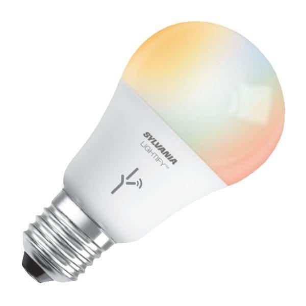 Sylvania 73693 Led9 5 A19 Dim Rgbw Lfy Osram Lightify Led Light System