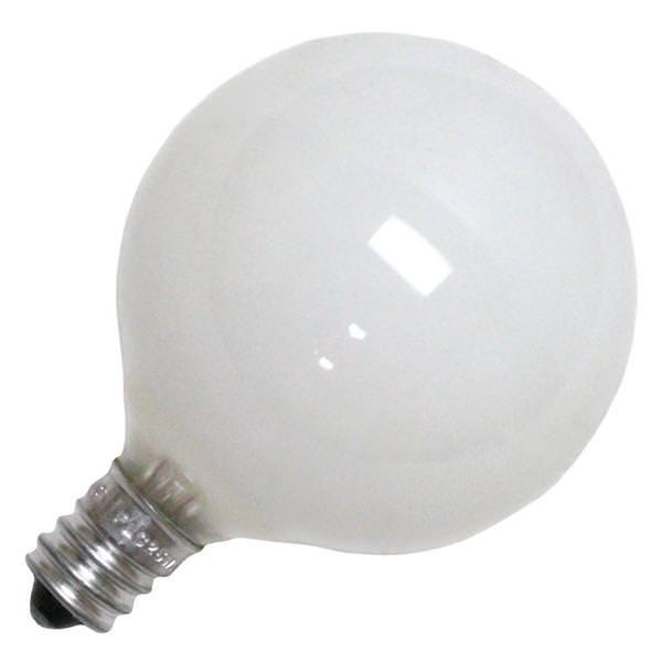 Vanity Light Bulb Size : Philips 168476 - G16.5 Decor Globe Light Bulb