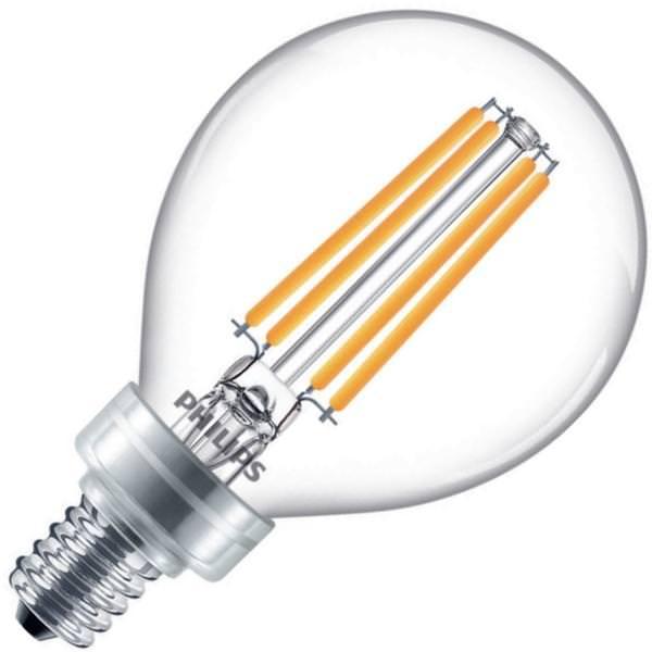 Philips 549287 3 8g16 5 Per 927 922 Cl G E12 Wgx 1fbt20 Globe Style Antique Filament Led Light Bulb