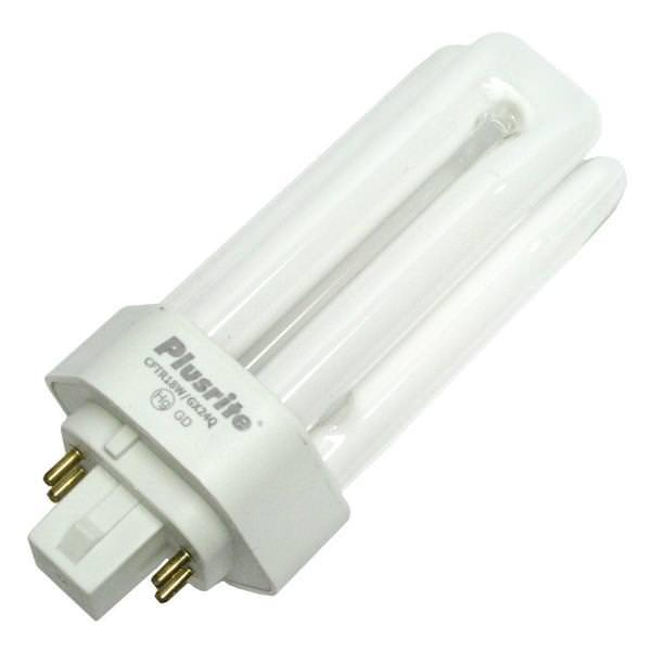 Plusrite 04036 - Triple Tube (4-Pin Base) Compact Fluorescent Light Bulb