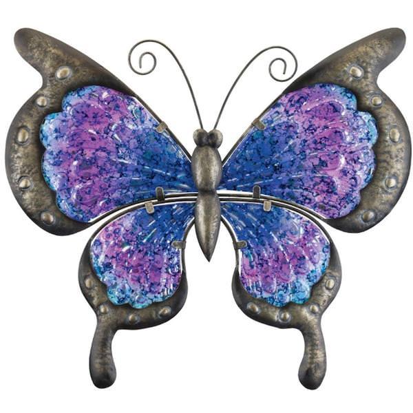 Regal Art Gift 12355 Vintage Erfly Wall Decor 13 Purple Figurines