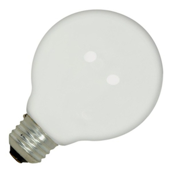 Satco 02438 G25 Decor Globe Light Bulb