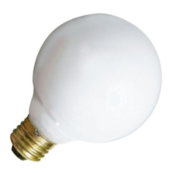 Satco 03640 G25 Decor Globe Light Bulb