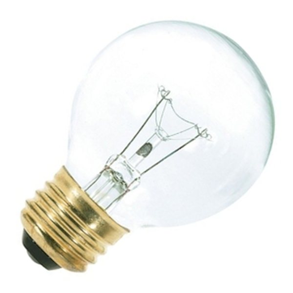 Vanity Light Bulbs Globe : Satco 03888 - G18.5 Decor / Vanity Globe Style Light Bulb
