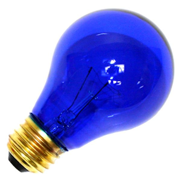 Satco 06082 standard transparent colored light bulb for Colored light bulbs