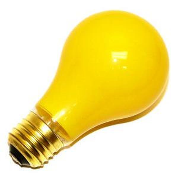 Satco 06093 Standard Solid Ceramic Colored Standard Light Bulb
