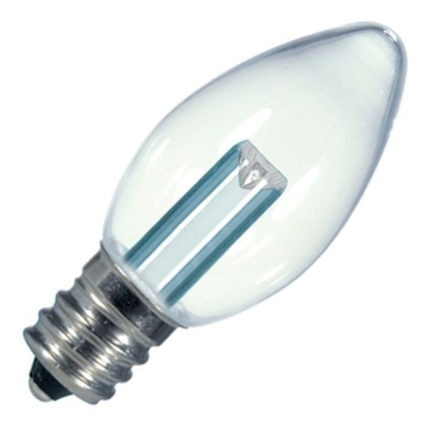 Satco 09156 Candle Tip LED Light Bulb