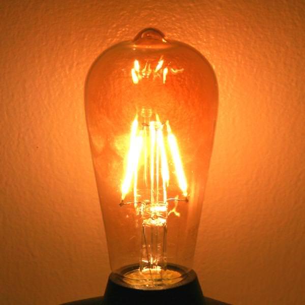 LED Filament Antique Light Bulb