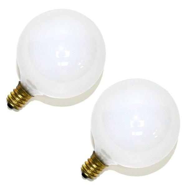 Sylvania 60Watt Double Life B10 Incandescent Light Bulb