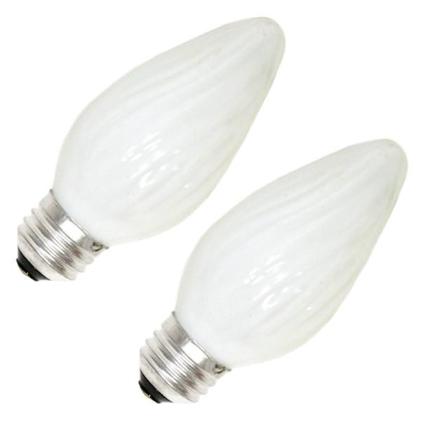 Ge 75338 F15 Decor Flame Tip Light Bulb
