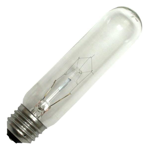 Sylvania 18712 Tubular Clear Pictures Lights Light Bulb