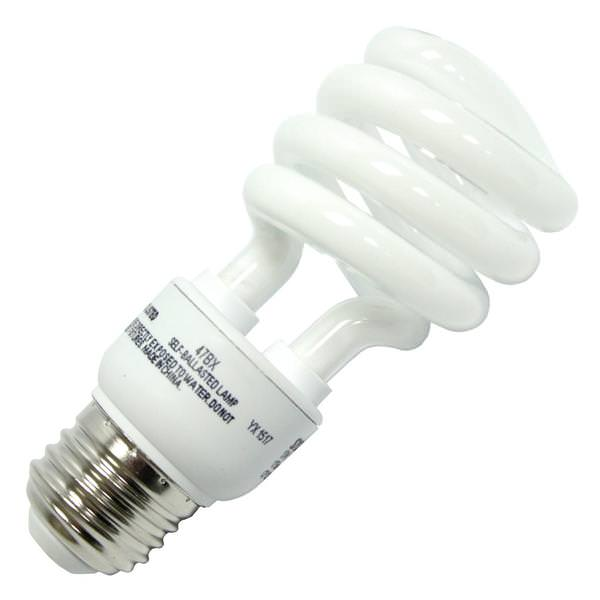 13 watt 120 volt medium screw base 2700k warm white cfl - Sylvania Light Bulbs