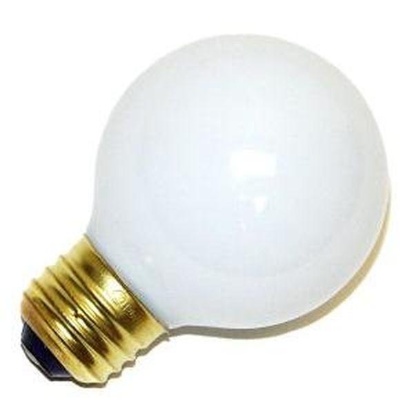 Decorative Vanity Light Bulbs : Bulbrite 320025 - G19 Decor / Vanity Globe Style Light Bulb