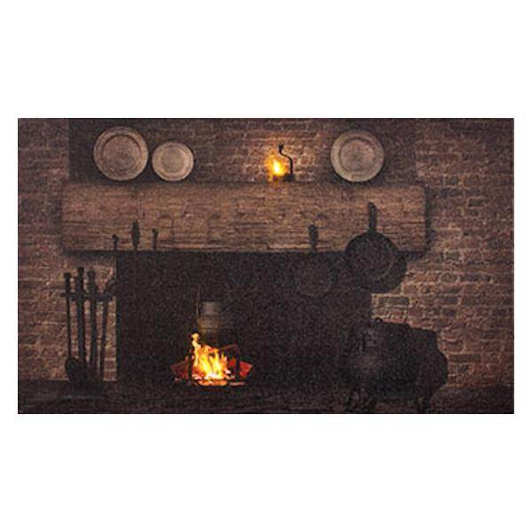 Timeless by design 72560 home interior lighted canvas for Timeless fireplace designs