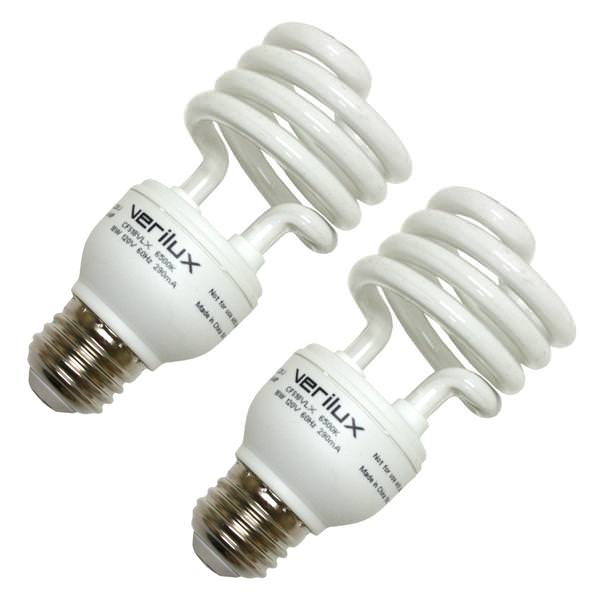 Verilux 05112 Compact Fluorescent Daylight Full Spectrum Light Bulb