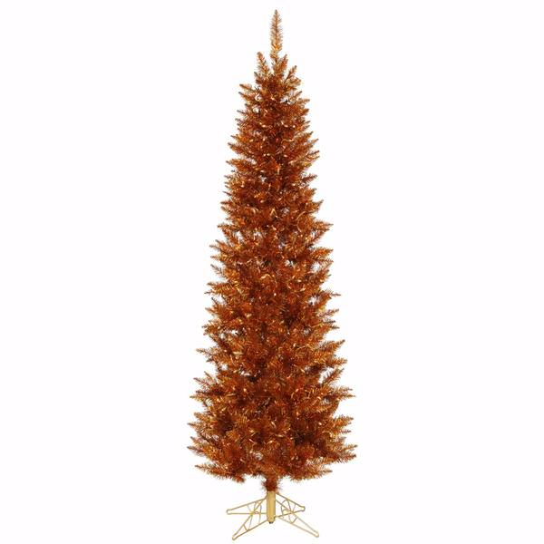 5 x 25 copper spruce pencil 150 clearamber lights