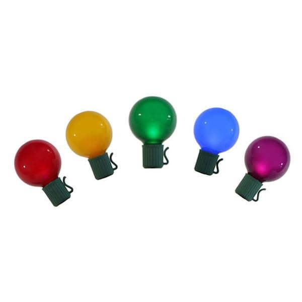 Vickerman 29924 - LED Globe Miniature Christmas Light String Set
