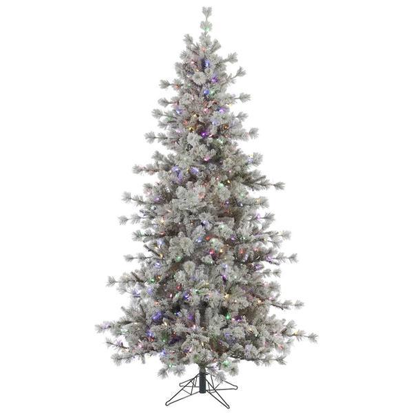 Costco Fake Christmas Trees: Flocked Christmas Tree