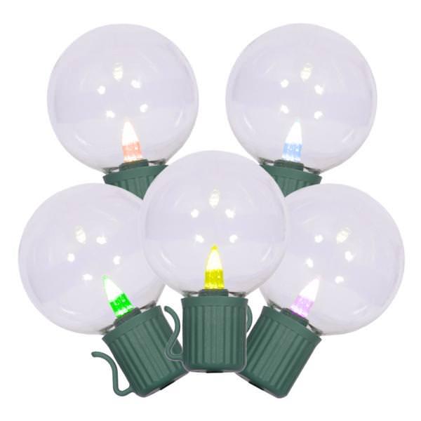 Vickerman 34550 - LED Globe Miniature Christmas Light String Set
