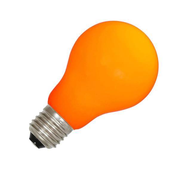 12 watt 120 volt a19 medium screw orange ceramic led