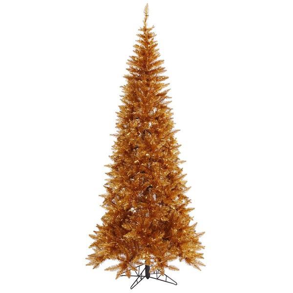 Vickerman 438459 Copper Colored Christmas Tree